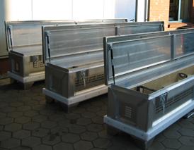 Aluminium Transport-kisten