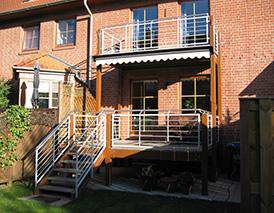 Balkone, Treppen und Geländer